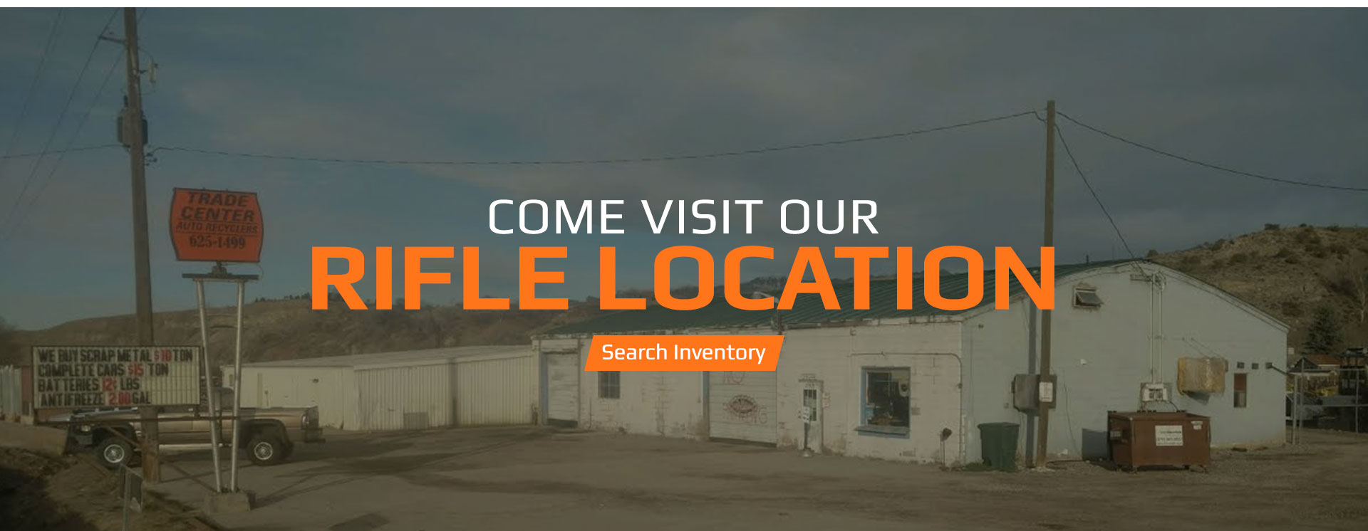 Car Parts & Salvage in Grand Junction, CO | Trade Center Auto